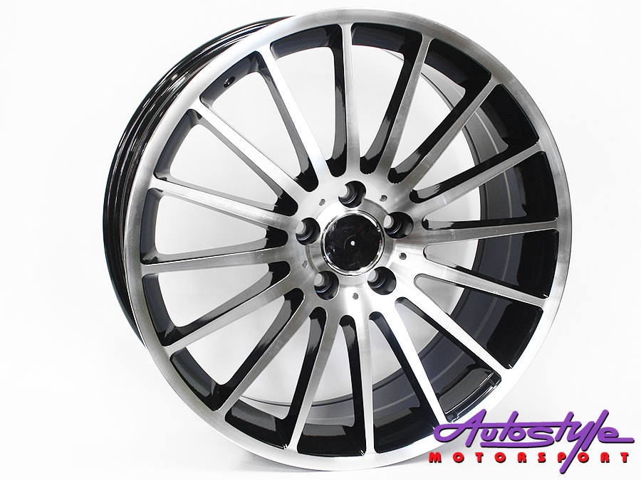 19″ QS ZR63 5/112 BKMF Alloy Wheels