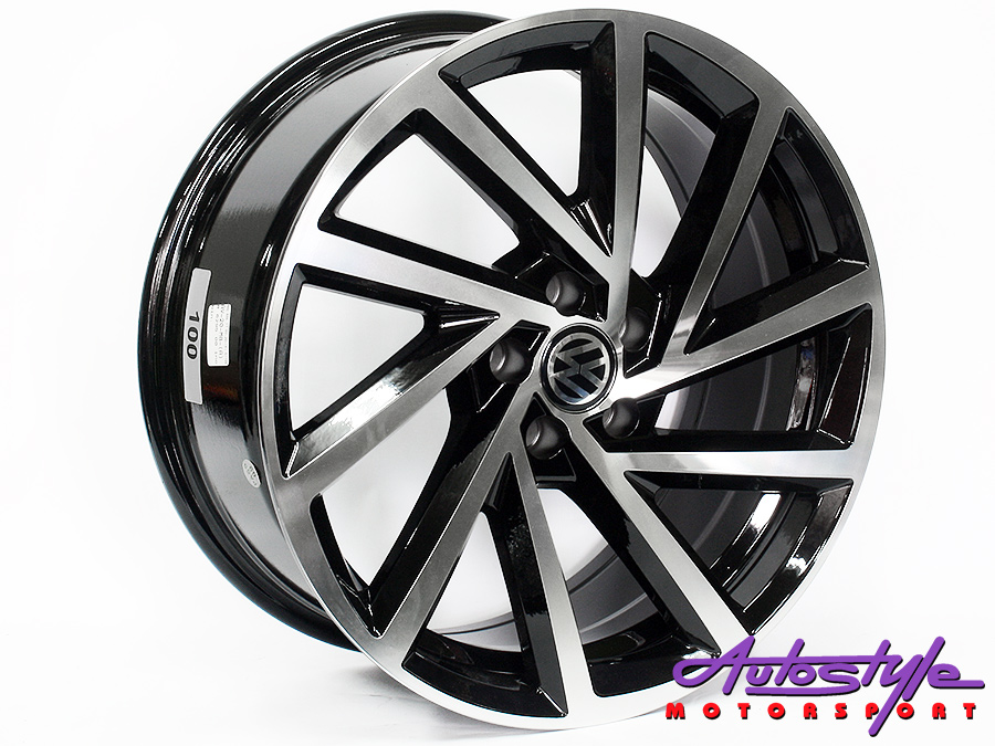 17″ Axe AV-20-A 5/100 BKMF Alloy Wheels