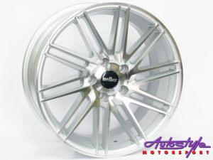 "17"" MG101 5/100 HSMF Alloy Wheels-0"