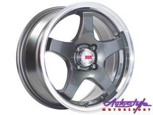 "15"" A-Line Torque 4/100 GMML Alloy wheels-0"