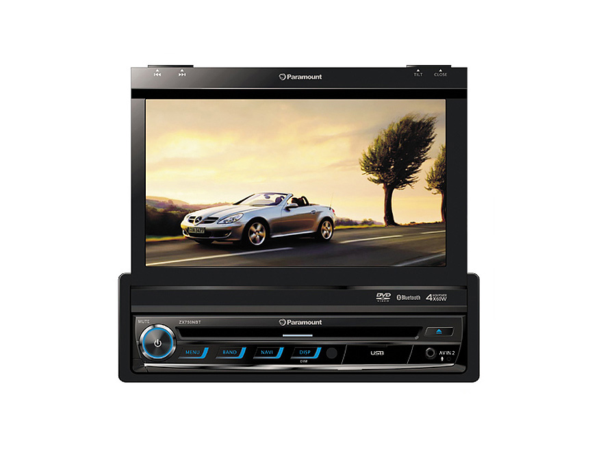 Paramount ZXN65 In-Dash DVD with Bluetooth, GPS & USB