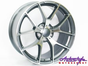 "19"" QS 507ED 5/112 GMMF Alloy Wheels-0"