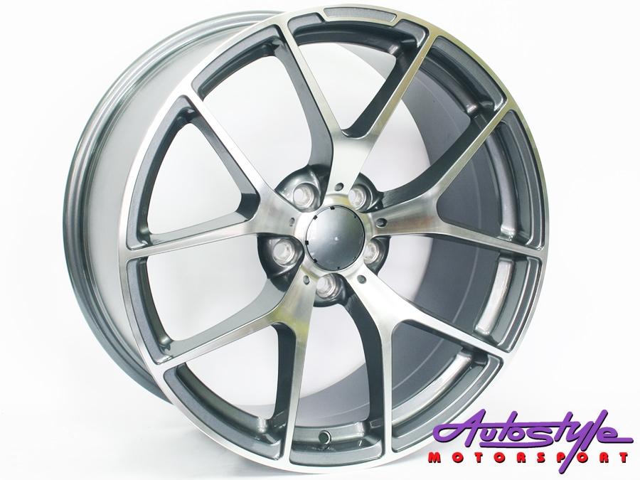 "19"" QS 507ED 5/112 GMMF Alloy Wheels-0"