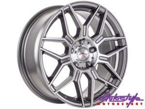 "15"" A-Line Alexis 4/108 GMMF Alloy Wheels-0"