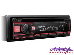 Alpine CDE-203BT Mp3 Cd Receiver with Bluetooth-0