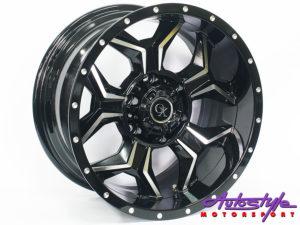 "17"" M2039 6/139 BKMF Alloy Wheels-0"