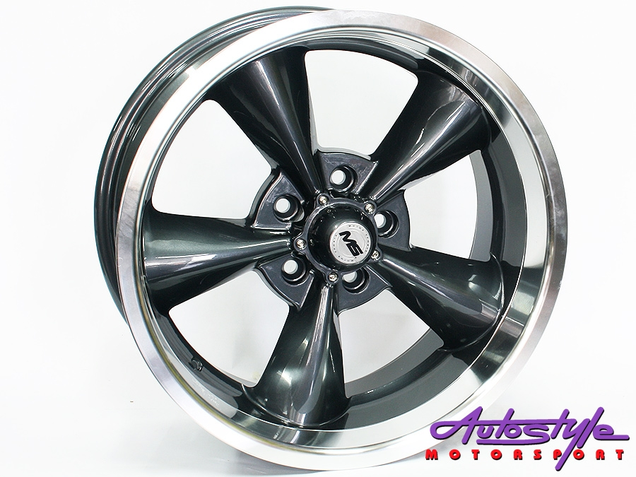 "17"" 5150 5/114 Grey Alloy wheels-0"