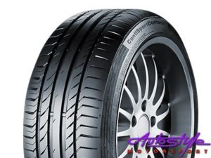 "255-35-19"" Continental ContiSportContact 5 Tyres-0"