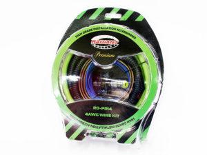 Radian Pro Series 4gauge Audio Wiring Kit-0