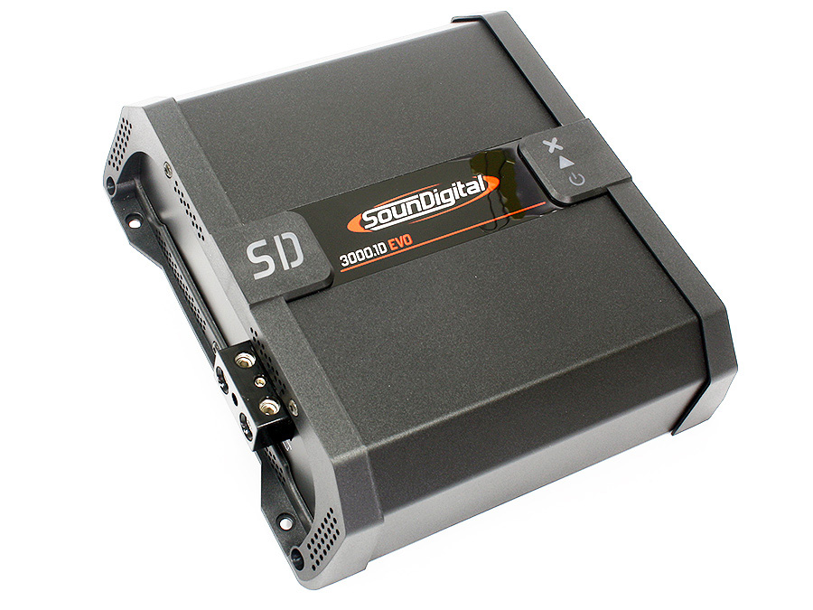 SounDigital SD3000.1D 3000rms 1ohm Amplifier