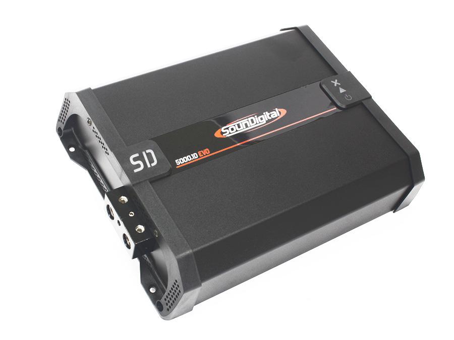 SounDigital SD5000.1D 5000rms 1ohm Amplifier