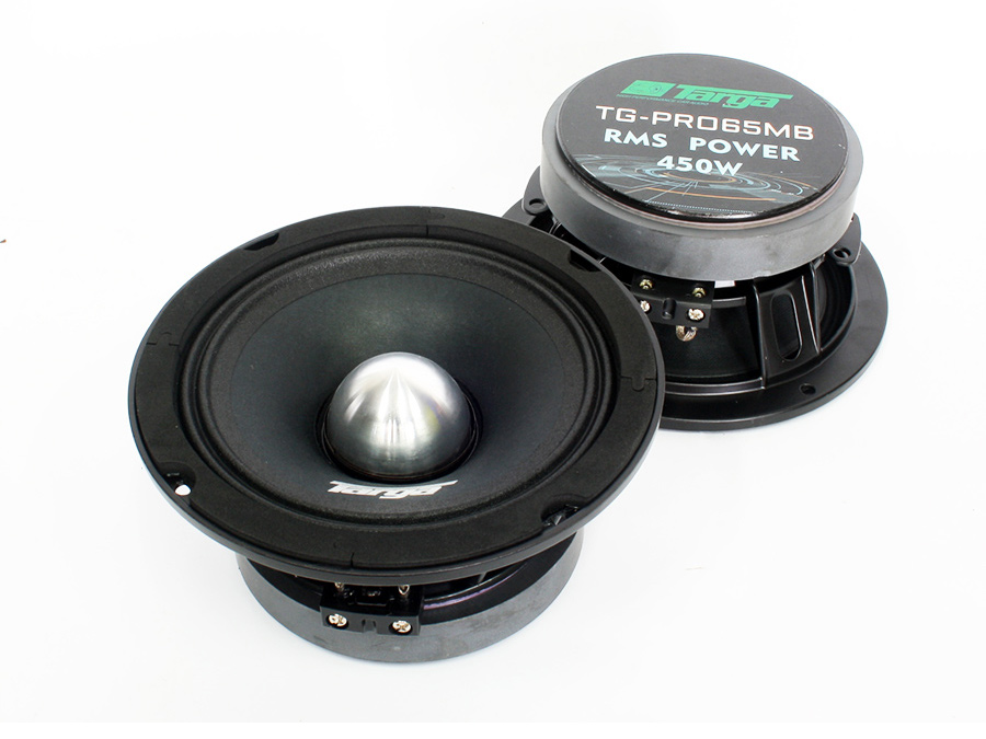 Targa TG-PRO65MB 6″ Pro Series 450rms Midbass Speakers
