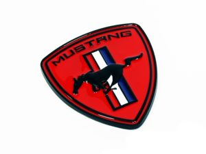 Ford Mustang Red Badge (7cm)-0