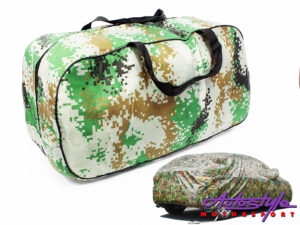 Protective SUV/4x4 Camoflage Look Car Cover-0