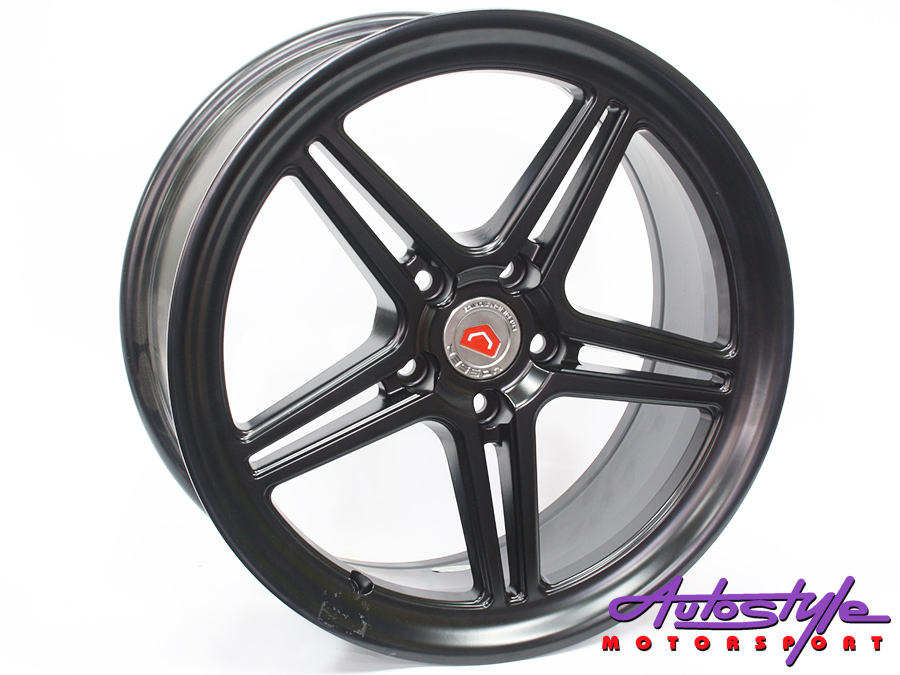 "18"" 5330 5/114 Matt Black Alloy Wheels-0"