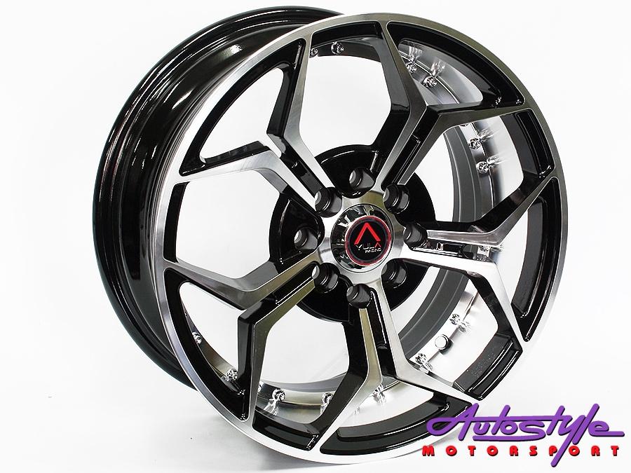 "15"" GR 771 4/100 & 4/108 BKMF Alloy Wheels-0"