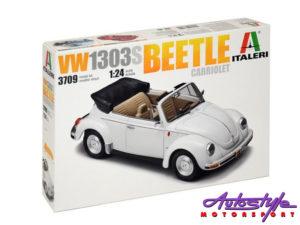 Italia 1:24 VW Beetle Cabrio (build up)-0