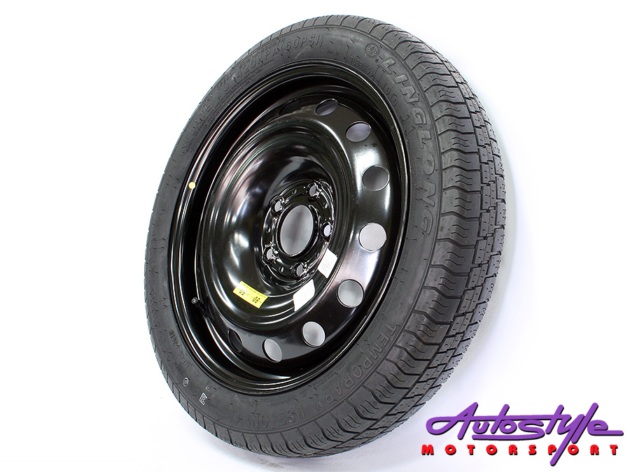 "17"" Space Saving Steel Spare Wheel 120pcd (Bmw)-0"