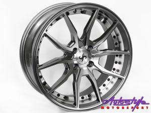 "17"" T067 4/100 Grey Alloy wheels-0"