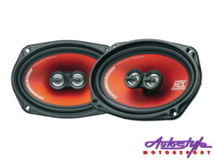 "MTX TR69C Terminator Series 320w 3way 6x9"" Speakers-0"