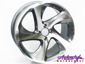 "17"" QS Vittoria 4/100 GMF Alloy Wheels-0"