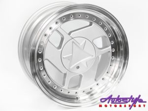 "15"" R-Line 4/100 & 4/114 Silver M/Lip Alloy wheels-0"