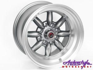 "13"" GR KS009 4/108 & 4/114 GMML Alloy Wheels-0"