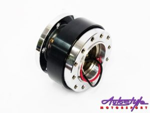 Quick Release Steering Wheel Hub (black)-0
