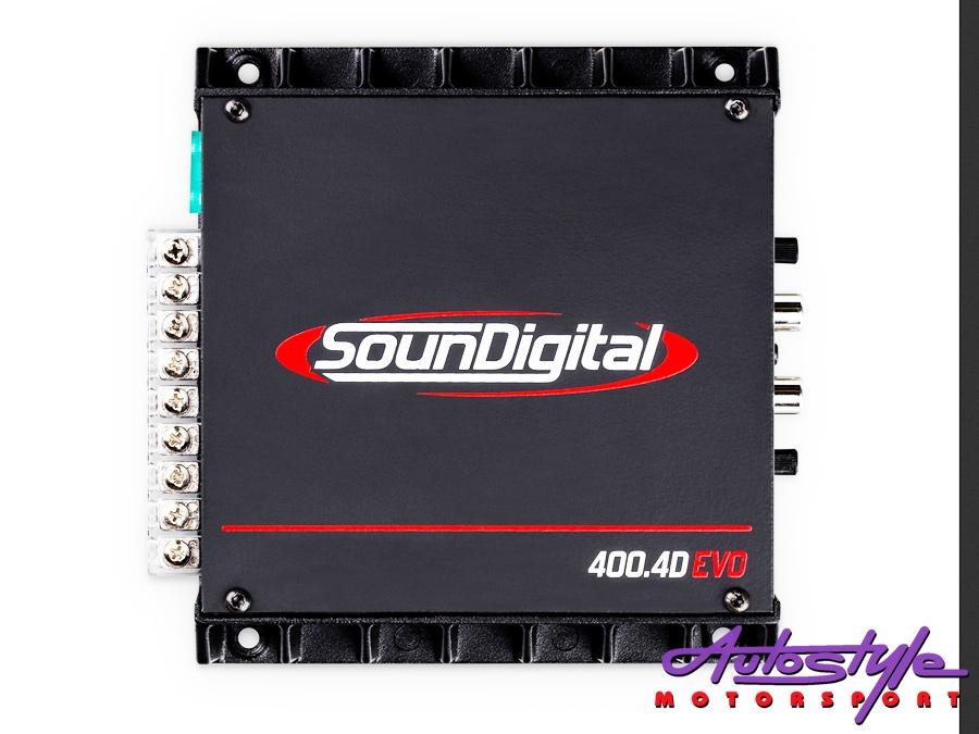 SounDigital 400.4D 100rms x 4 Amplifier-0