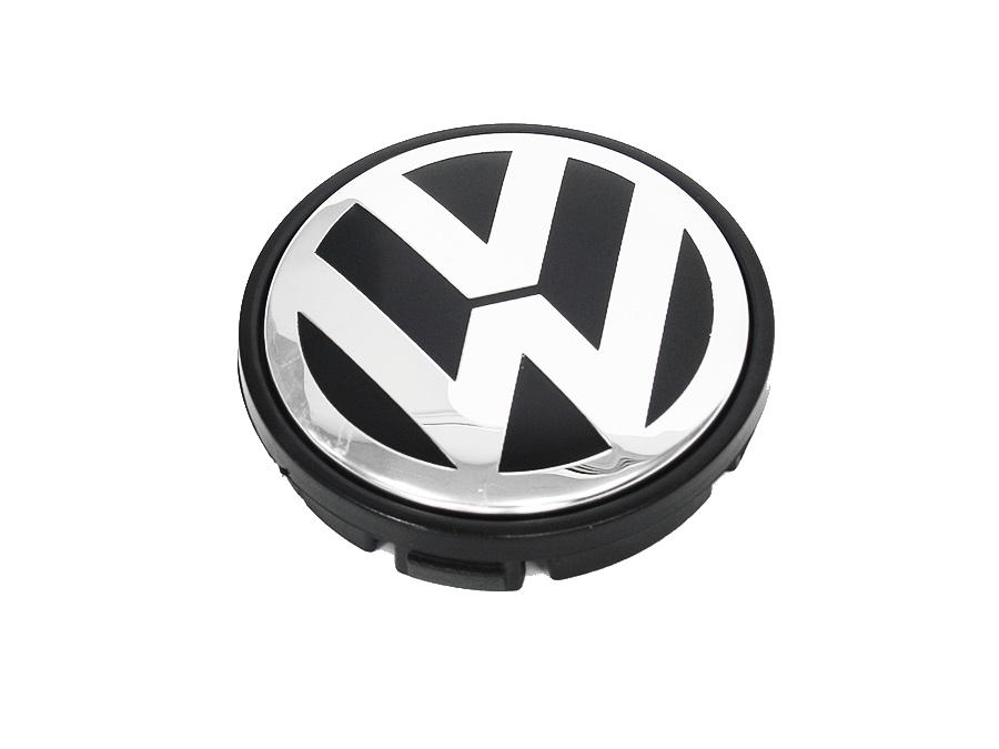 VW Logo Wheel Center Cap (55mm) (each)
