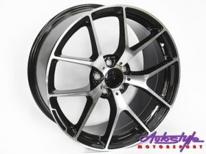 "19"" QS 507ED 5/112 BKMF Alloy Wheels-0"