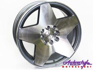 "16"" Evo PHT 4/100 & 4/114 Silver Alloy Wheels-0"