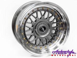 "15"" Axe Blaze-C 4/100 & 4/108 GMML Alloy Wheels-0"