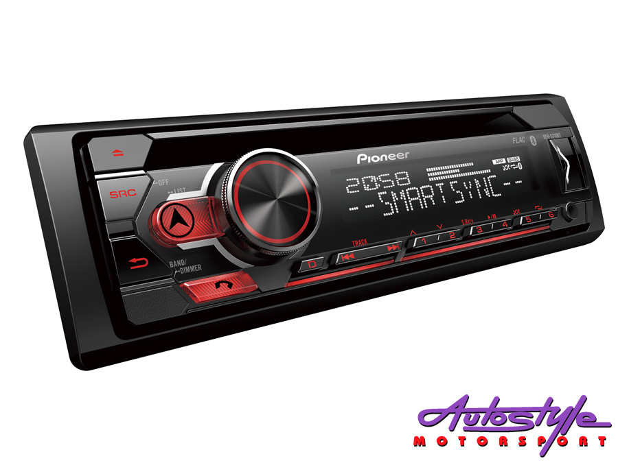 Pioneer DEH-S310BT Mp3 Cd F/Loader with USB & Bluetooth-0