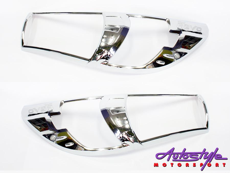 Toyota Hilux Revo 2016+ Chrome Headlight Trim