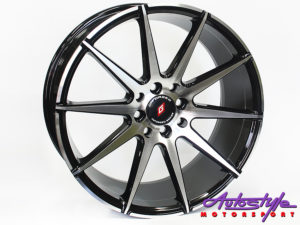 "17"" ST Trident 4/100 & 4/114 BKMF Alloy Wheels-0"