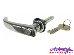 VW Classic Bus 58-67 Cargo Handle with Key (Long)-0
