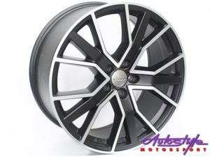 "19"" Evo CT1202 5/112 Matt Black Alloy Wheels-0"
