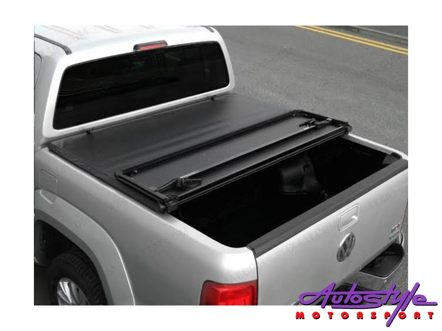 Evo Tuning Trifold Hard Cover Toneau for VW Amarok 2016+ D/Cab