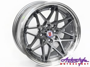 "17"" Evo HR 4/100 & 4/114 Grey Alloy Wheels-0"