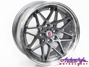 """17"""" Evo HR 4/100 & 4/114 Grey Alloy Wheels-0"""