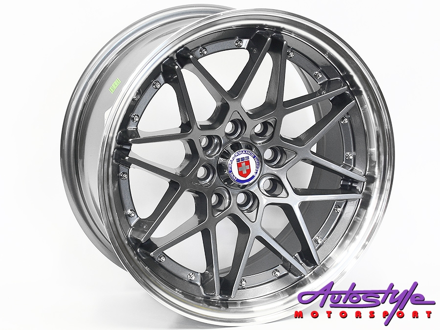 17″ Evo HR 4/100 & 4/114 Grey Alloy Wheels