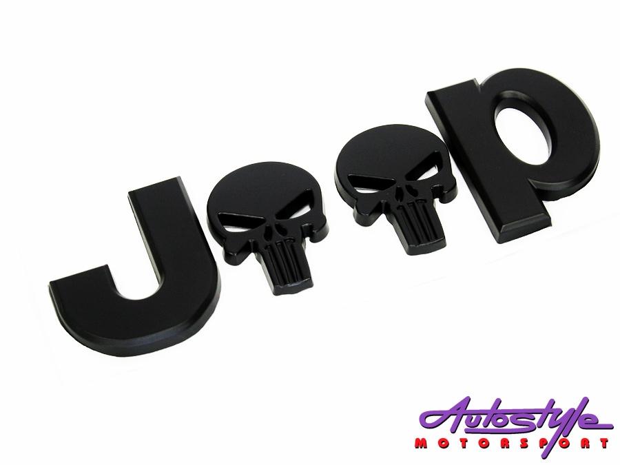 Jeep Punisher Black Badge (13cm)