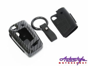 Carbon Fibre Keycover for VW Mk7/Polo 6R/Tiguan-30922