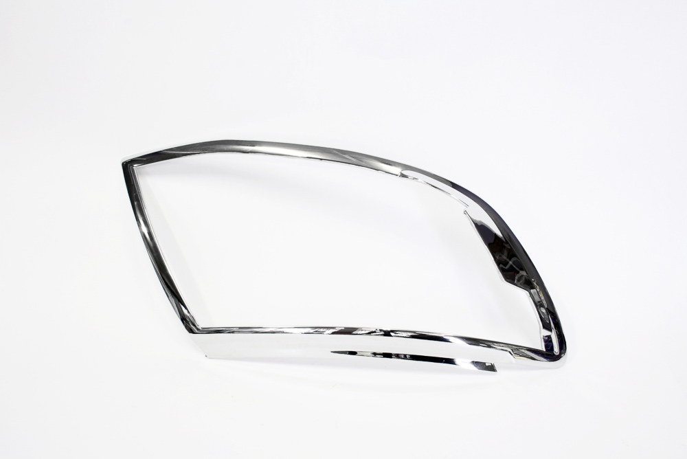 Ford Ranger 2012-2015 Chrome Headlight Trim (pair)