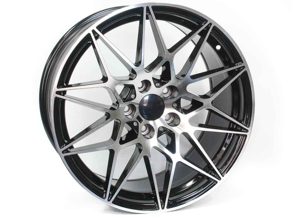 20″ Evo 4Comp 5/120 BKMF Alloy Wheels