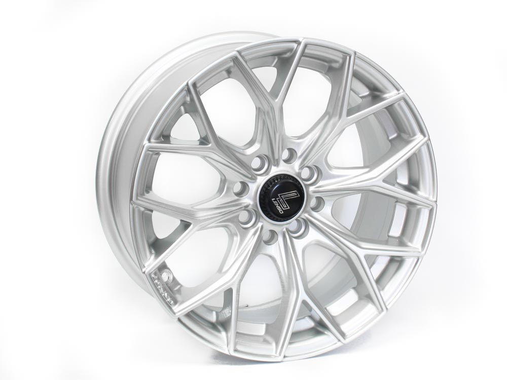 15″ Lenso SC-Musa 4/100 & 4/108 Silver Alloy Wheels