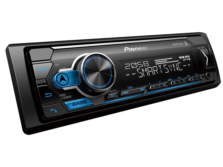 Pioneer MVH-S315BT Media Player with Dual Bluetooth