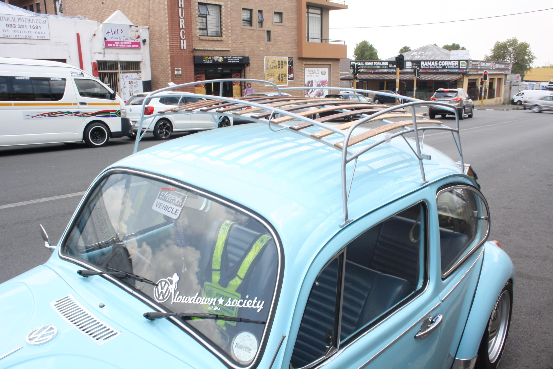 VW Classic Beetle Basket Roof Rack
