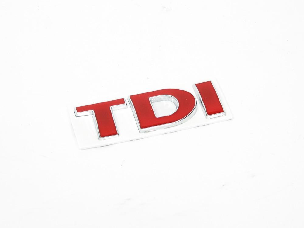 Tdi Red Sticker Badge (8cm)